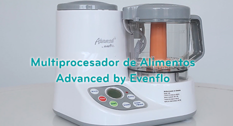 Multiprocesador de Alimentos Advanced by Evenflo